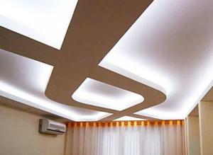 необычные натяжные потолки